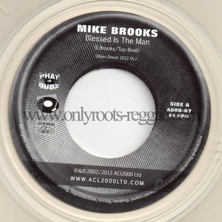 "(7"") MIKE BROOKS - BLESSED IS THE MAN / DENNIS ALCAPONE FEAT EARL 16"