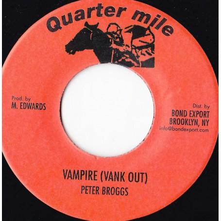 "(7"") PETER BROGGS - VAMPIRE (VANK OUT) / VERSION"
