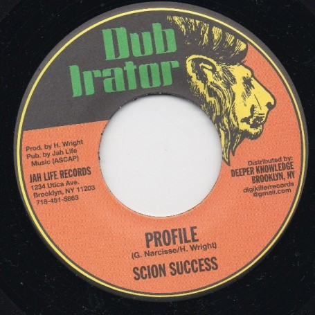 "(7"") SCION SUCCESS - PROFILE"