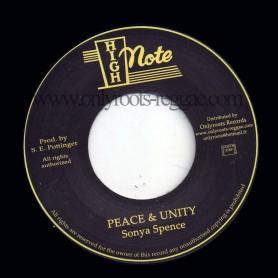 "(7"") SONYA SPENCE - PEACE & UNITY"