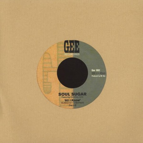 "(7"") SOUL SUGAR Feat COURTNEY JOHN - ALL I KNOW / VERSION"