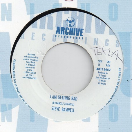 "(7"") STEVE BASWELL - I AM GETTING BAD / PHASE ONE ALL STARS"