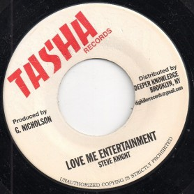 "(7"") STEVE KNIGHT - LOVE ME ENTERTAINMENT"