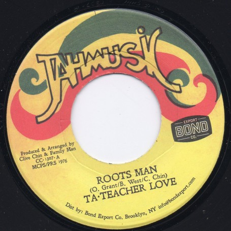 "(7"") TA TEACHER LOVE - ROOTS MAN / THE REBEL FORCE - MIX GONE"