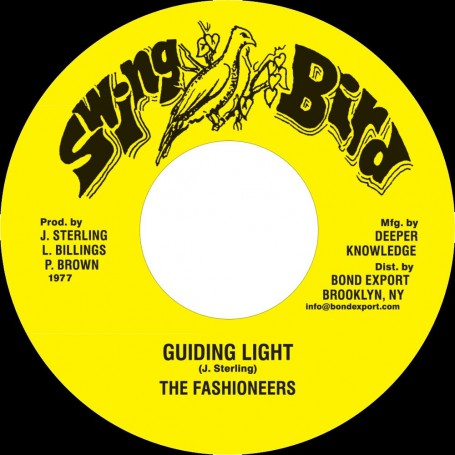 "(7"") THE FASHIONEERS - GUIDING LIGHT / VERSION"