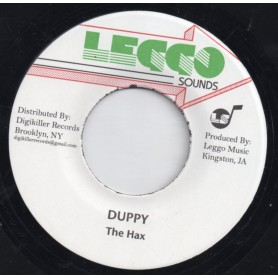 """(7"""") THE HAX - DUPPY / VERSION"""