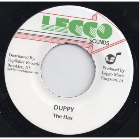 "(7"") THE HAX - DUPPY / VERSION"