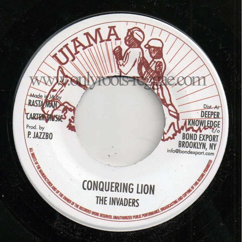 """(7"""") THE INVADERS - CONQUERING LION / VERSION"""