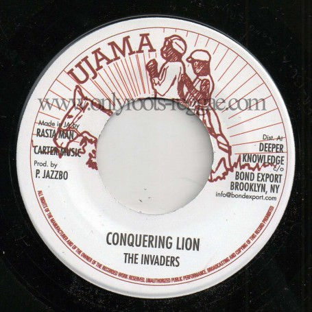 "(7"") THE INVADERS - CONQUERING LION / VERSION"