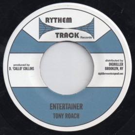 "(7"") TONY ROACH - ENTERTAINER / VERSION"