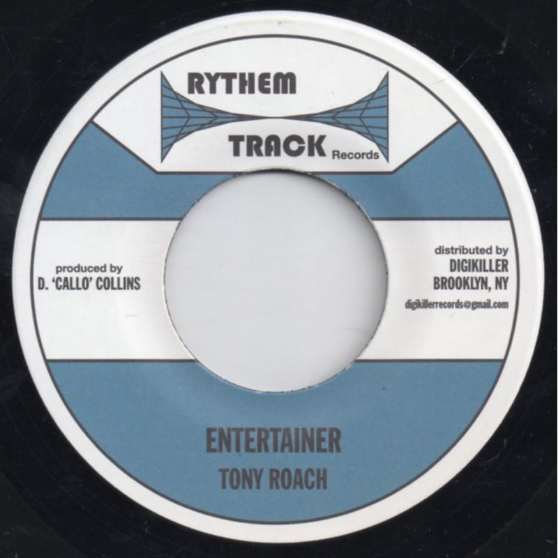 "(7"") TONY ROACH - ENTERTAINER / VERSION"