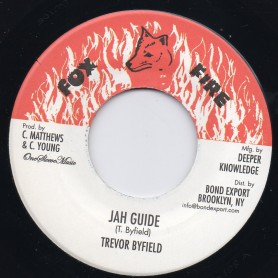 """(7"""") TREVOR BYFIELD - JAH GUIDE / THE FATHER VERSION"""