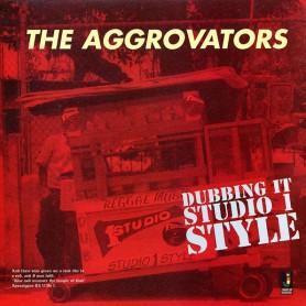(LP) AGGROVATORS - DUBBING IT STUDIO 1 STYLE