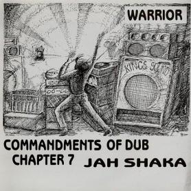 (LP) JAH SHAKA - COMMANDMENTS OF DUB CHAPTER 7 - WARRIOR