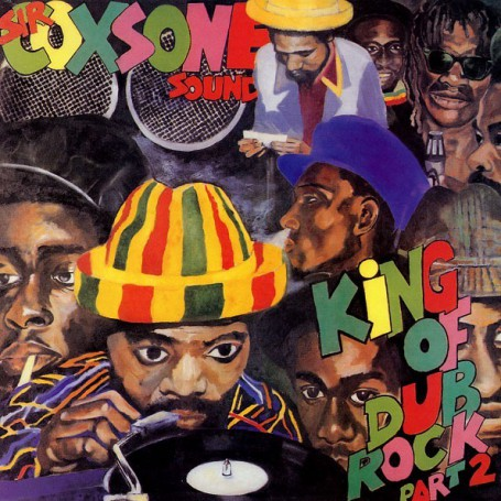 (LP) SIR COXSONE SOUND - KING OF DUB ROCK PART 2