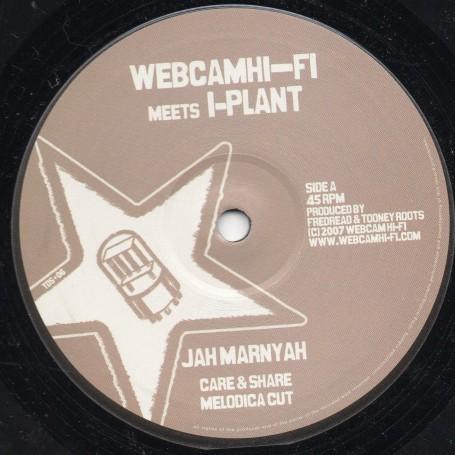 """(10"""") JAH MARNYAH - CARE & SHARE / MELODICA CUT / HORN CUT / DUB"""