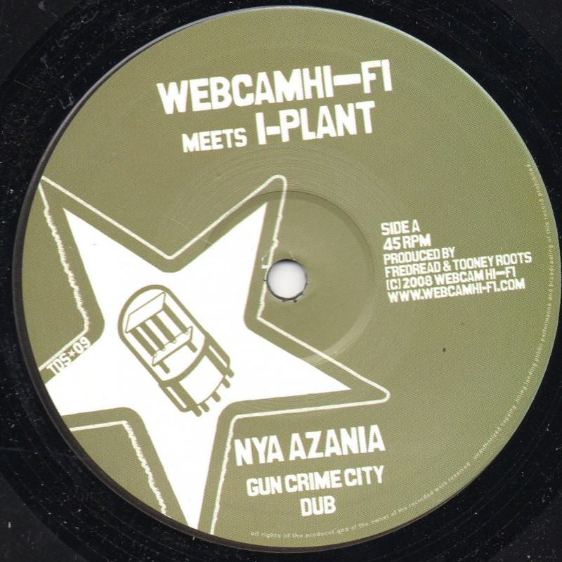 "(10"") NYA AZANIA - GUN CRIME CITY + DUB"