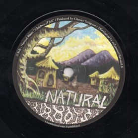 "(7"") NATURAL ROOTS - CHILDREN OF JAH"