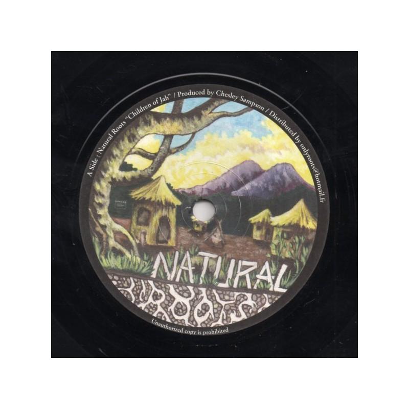 "(7"") NATURAL ROOTS - CHILDREN OF JAH"