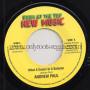 """(7"""") ANDREW PAUL - WHAT A GWARN IN A BABYLON (RADIO MIX) / DUB"""