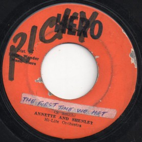 "(7"") ANNETTE AND SHENLEY - THE FIRST TIME WE MET / MILLION DOLLAR BABY"