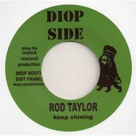 """(7"""") ROD TAYLOR - KEEP SHINING / BIGGA - KULCHA PATON"""