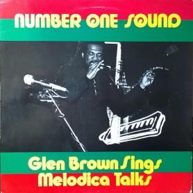 (LP) GLEN BROWN SINGS MELODICA TALKS - NUMBER ONE SOUND