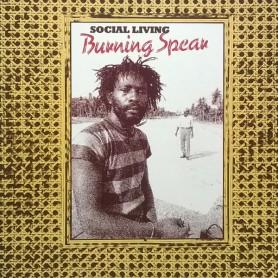 (LP) BURNING SPEAR - SOCIAL LIVING