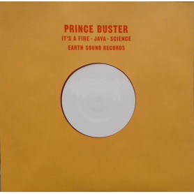 "(10"") PRINCE BUSTER & SENIOR PABLO (PABLOVE BLACK) - IT'S A FIRE - JAVA - SCIENCE"