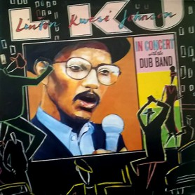 (2xLP) LKJ - IN CONCERT WITH THE DUB BAND (LIVE)