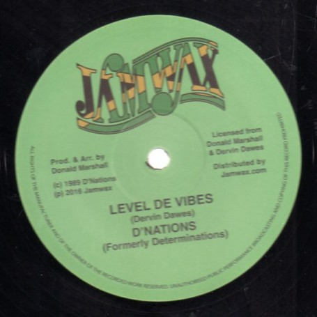 "(12"") D'NATIONS - LEVEL THE VIBES / VIBES VERSION"