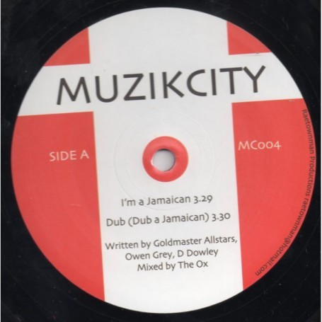 "(10"") OWEN GREY - I'M A JAMAICAN / HUNDRED MILES"