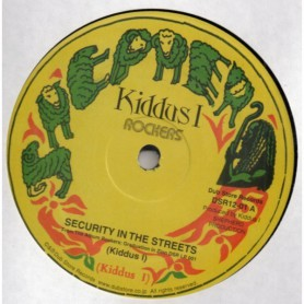 "(12"") KIDDUS I - SECURITY IN THE STREETS / TOO FAT"