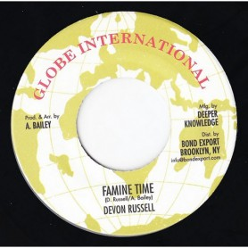 "(7"") DEVON RUSSELL - FAMINE TIME"