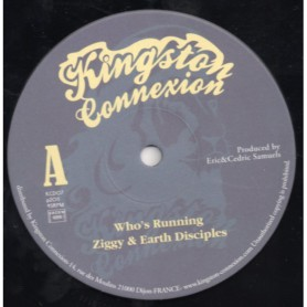 "(10"") ZIGGY & EARTH DISCIPLES - WHO'S RUNNING"