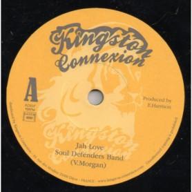 """(7"""") SOUL DEFENDERS BAND (Vin Morgan) - JAH LOVE"""