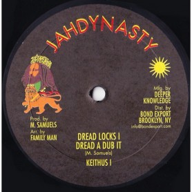 "(10"") KEITHUS I - DREADLOCKS I / DREAD A DUB / DREADLOCKS IN THE ARK"