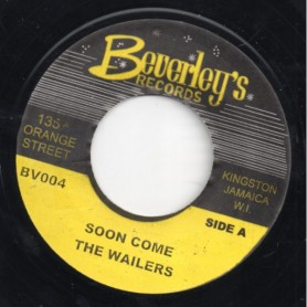 "(7"") THE WAILERS - SOON COME"