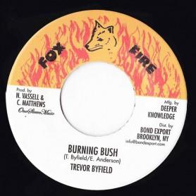 """(7"""") TREVOR BYFIELD - BURNING BUSH"""