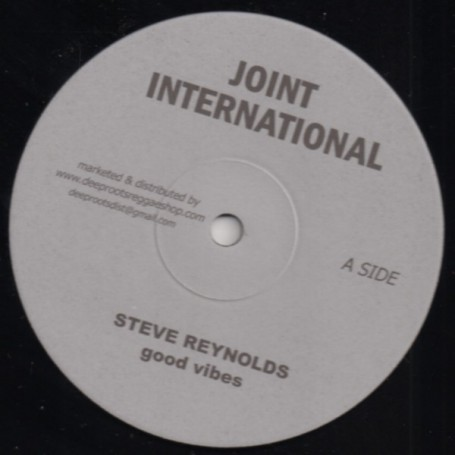 "(10"") STEVE REYNOLDS - GOOD VIBES"