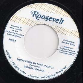 "(7"") GENERATION GAP - MUSIC FROM MY MIND / VERSION"