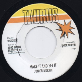 "(7"") JUNIOR MURVIN - MAKE IT AND SET IT"