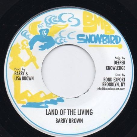 "(7"") BARRY BROWN - LAND OF THE LIVING / VERSION"