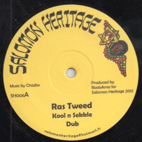 """(12"""") RAS TWEED - KOOL N SEKKLE / MIKEY MELODY - MIGHTY"""