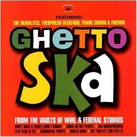 (LP) SKATALITES, THEO BECKFORD, Etc - GHETTO SKA