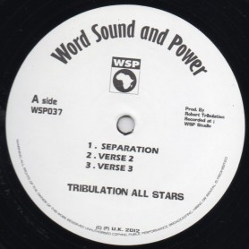 "(12"") TRIBULATION ALL STARS - SEPARATION"