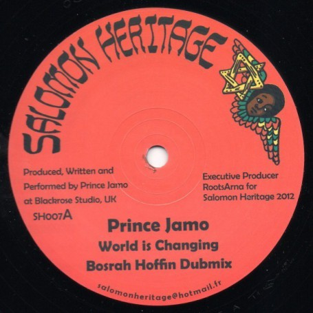 "(12"") PRINCE JAMO - WORLD IS CHANGING"