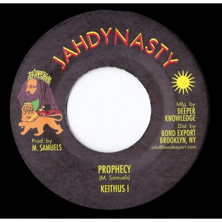 "(7"") KEITHUS I (Milton Samuels) - PROPHECY / PROPHECY DUB"