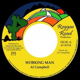 "(7"") AL CAMPBELL - WORKING MAN"
