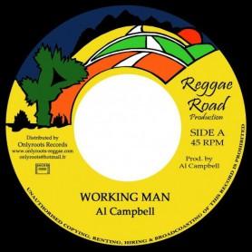 "(7"") AL CAMPBELL - WORKING MAN"